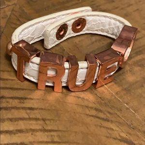 BCBG Leather Bracelet